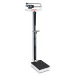 Detecto 449 Physician Mechanical Beam Scale w/ Height Rod & Hand Post