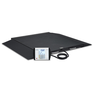Detecto 6500 Portable Wheelchair Scale with Ramp