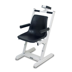 Detecto 6875 Digital Chair Scale With Wheels