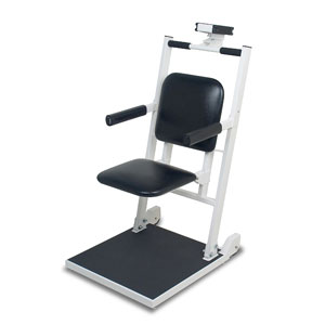 Detecto 6876 Flip Seat Digital Euro Chair Scale
