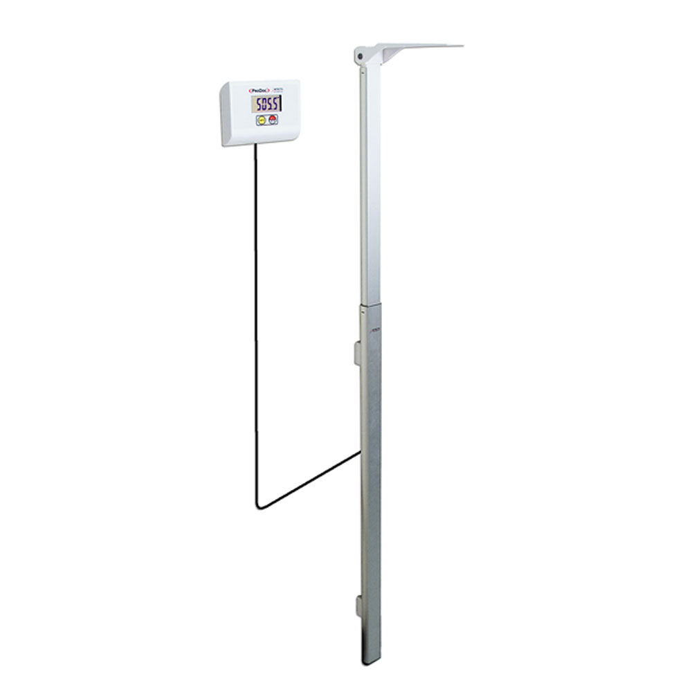 Detecto Dhrwm Stand Alone Wall Mount Digital Height Rod