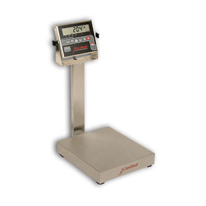 Detecto EB-204 Series Stainless Steel Bench Scales with 204 Indicator