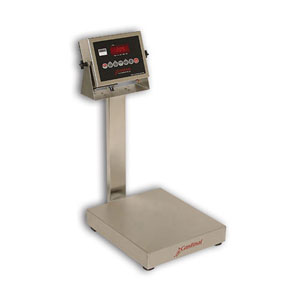 Detecto EB-205 Series Stainless Steel Bench Scales with 205 Indicator