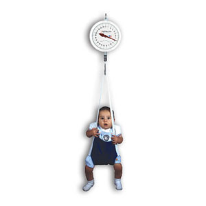 Detecto MCS-25KGNT Hanging Baby Scale with Trousers-25 kg Capacity