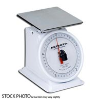 Detecto PT-500SRK Petite Top Loading Scale with Rotating Dial