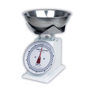 Detecto T-B Top Loading Dial Scales with Bowl