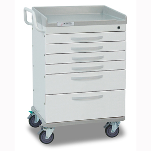 Detecto Wc333369wht Whisper General Purpose Cart 6 White