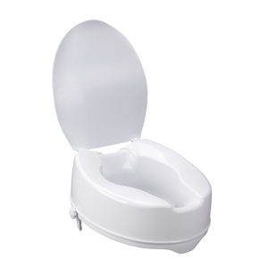 Groovy Drive Medical 12067 Raised Toilet Seat W Lock And Lid Standard 6 Gmtry Best Dining Table And Chair Ideas Images Gmtryco