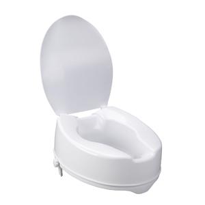 Awe Inspiring Drive Medical 12067 Raised Toilet Seat W Lock And Lid Standard 6 Creativecarmelina Interior Chair Design Creativecarmelinacom