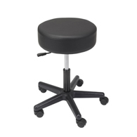 Drive 13079 Padded Seat Revolving Pneumatic Adjustable Height Stool