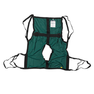 Drive 13254S One Piece Sling w/ Positioning Strap & Commode Cutout-Sm