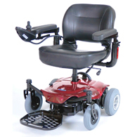 Drive Medical COBALTX23RD16FS Cobalt X23 Power Wheelchair-Red