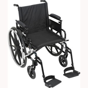 Drive PLA420 Viper Plus GT Wheelchair-Full Arm-Swing Away Footrest-20