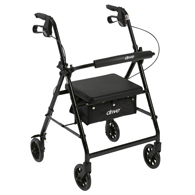 "Drive Rollator-6"" Wheels-Fold Up Removable Back Support-Padded Seat"