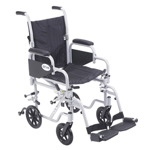 Drive Tr16 Poly Fly Wheelchair W Swing Away Footrests 16