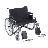 Drive Medical Sentra EC Heavy Duty Extra Wide Wheelchair