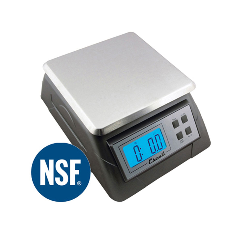 Escali alimento nsf approved professional digital food for Professional food scale