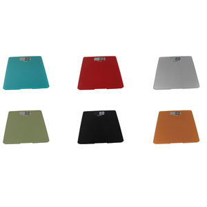Escali B200 Glass Bathroom Scales-440 Lb / 200 Kg