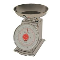 Escali DS115B Mercado Dial Scale with Bowl-11 Lb/5 Kg
