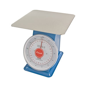 Escali-DS13260P Mercado, Dial Scale with Plate-132 Lb/60 Kg