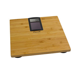Escali ECO180 400 lb Solar Bamboo Bath Scale