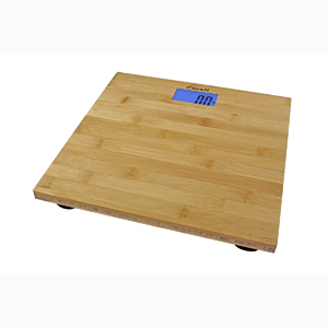 Escali ECO200 Bamboo Bath Scale