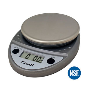 Escali P115PL Primo NSF Certified Digital Scale with Stainless Steel Top