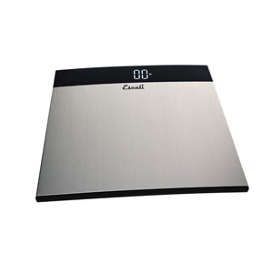 Escali S200 Extra Large Stainless Steel Bath Scale-440 lb Capacity