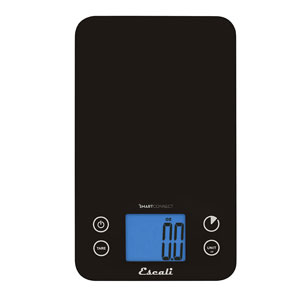 Escali SC115KS SmartConnect Kitchen Scale with Bluetooth LE