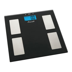 Escali USHM180G Glass Elegance Health Monitor Scale-400 LB/180 KG