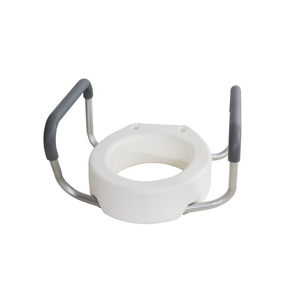 Toilet Seat Riser With Arms.Essential Medical B5082 B5083 Toilet Seat Riser W Arms