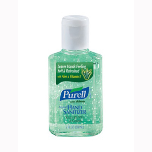 GOJO 9682-24 PURELL Advanced With Aloe Instant Hand Sanitizer-24/Case