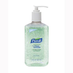 GOJO 3639-12 Purell Advanced With Aloe Hand Sanitizer-12/Case