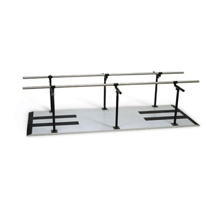Hausmann 1387 Bariatric Parallel Bars, Height and Width Adjustable