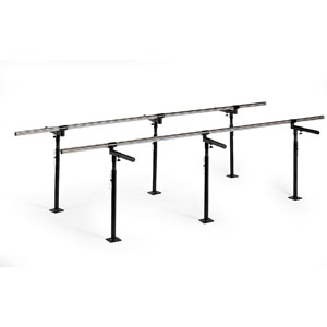 Hausmann 1389 Floor Mounted Bariatric Parallel Bars