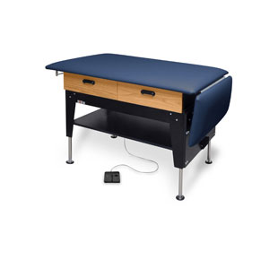 Hausmann 4704 Electric Hi-Lo Changing/Treatment Table w/Drawers
