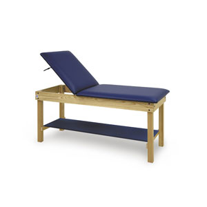 Hausmann S&W Table with Upholstered Shelf & Gas Spring Backrest