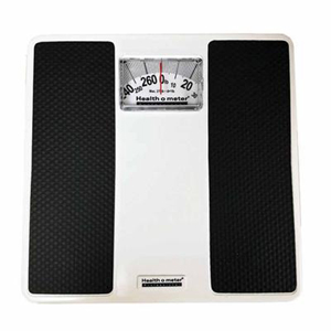 Health o meter 100LB Mechanical Floor Scale-Pounds Only