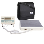 Health o meter 349KLX Digital Medical Weight Scale and Carrying Case