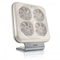 HoMedics AR-NC01 Breathe Air Cleaner with Nano Coil Technology-White