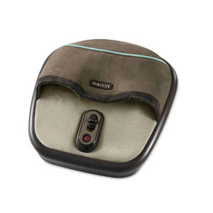 HoMedics FMS-275H Air Compression and Shiatsu Foot Massager with Heat