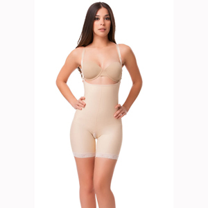 Isavela-BE08 Stage 2 Enhancer Body Suit & Suspenders