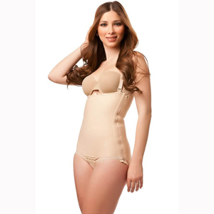 Isavela BS01 Body Suit w/ Suspenders & Zipper on Left Side