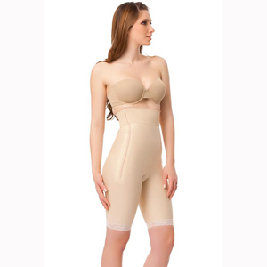 Isavela GR03 High Waist Abdominal Girdle with Zippers