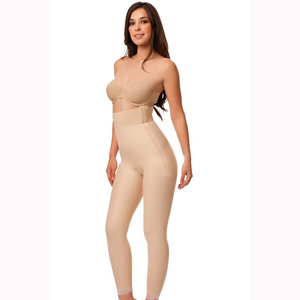 Isavela GR07 High Waist Girdle with Zippers-Ankle Length