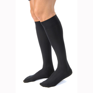 Jobst For Men Casual Knee High Closed Toe Socks-30-40 mmHg-Tall