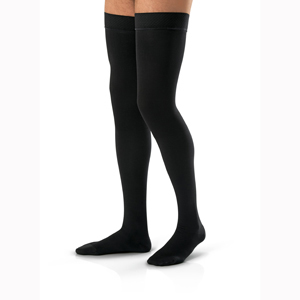 Jobst For Men Thigh High Closed Toe Stockings-30-40 mmHg