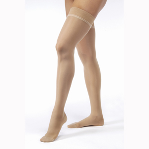 Jobst Ultrasheer Thigh High Closed Toe Stockings-20-30 mmHg