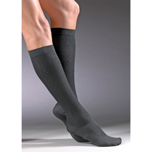 Jobst Womens Diamond Knee High Dress Trouser Socks-15-20 mmHg
