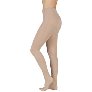 Juzo 2001 20-30 mmHg Soft Petite Pantyhose w/ Open Toe & Fly
